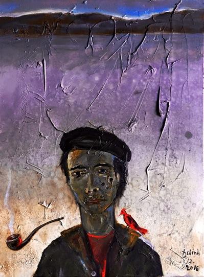 ĐINH CƯỜNG VÀ MÙA THỦY LỢI 1977 sơn dầu đinhtrườngchinh – tháng 12-2016